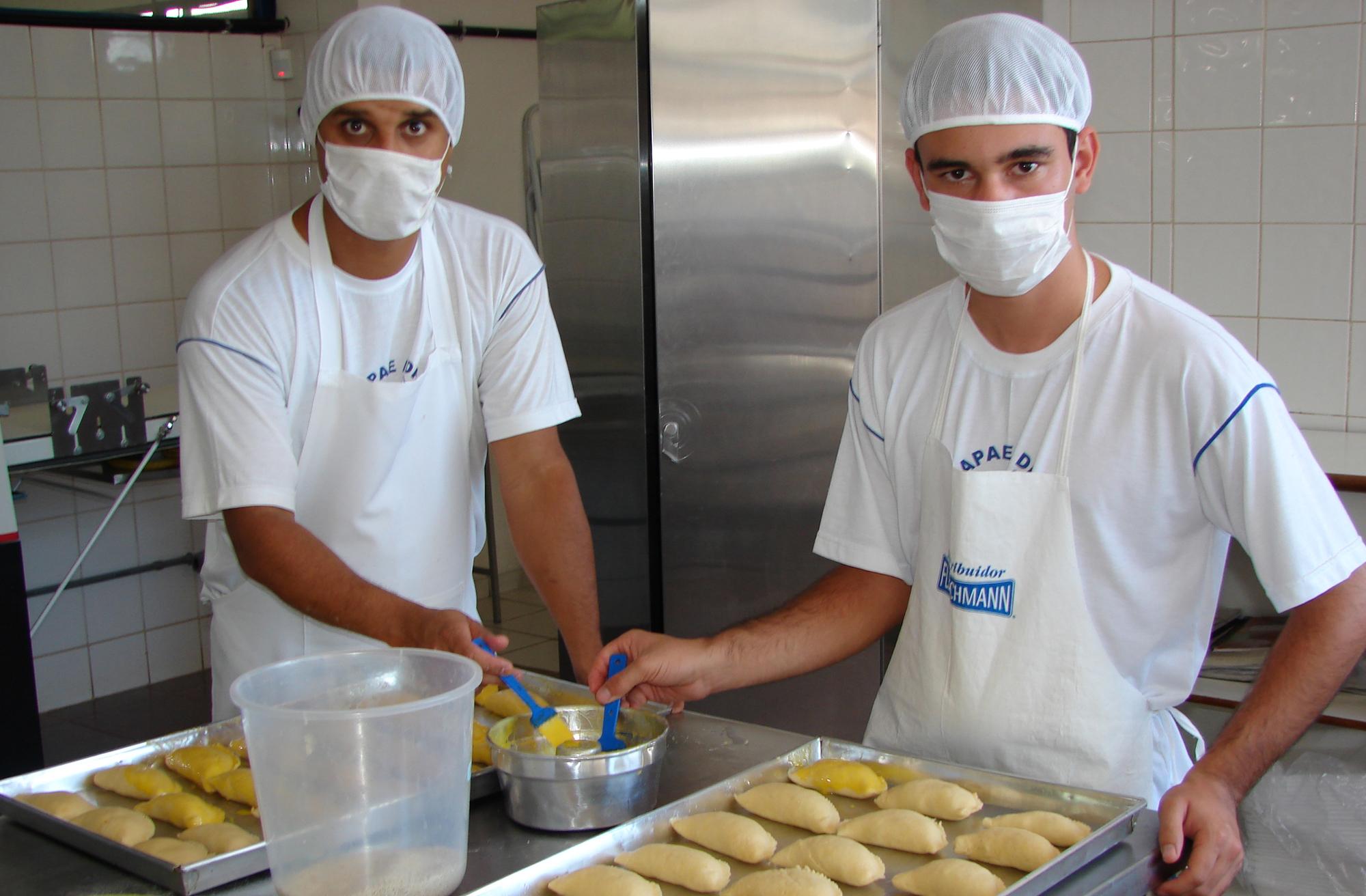 Alimentos - Pães - Padeiros - Fabricação de pão
