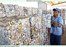 Meio Ambiente - Lixo e Reciclagem - Reciclagem de latinhas