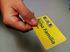 Economia -Geral - Cartão do Bolsa Família