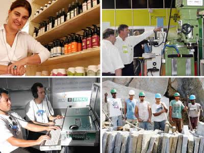 Economia - Empresas - Micro e pequena empresa