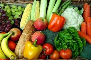 Alimentos - Horticultura - Frutas, legumes e verduras