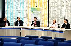Cristiano Ferri, Luiz Antônio Eira, Dep. Paulo Pimenta, Dep. Luiza Erundina e José Filho