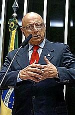 Esperidião Amin, autor do Projeto de Lei