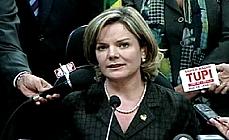 Autoridades - CC - Ministra-Chefe da Casa Civil - Gleisi Hoffmann