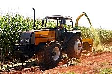 Agropecuária - Plantações - Colheita de grãos em fazenda próxima a Brasília