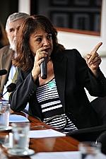 Berenice Piana (presidenta da Associação em Defesa dos Autistas - ADEFA)