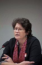 Marga Janete Ströher (coordenadora diversidade religiosa da Secretaria de Direitos Humanos da Presidência da República - FONAPER)