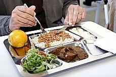 Alimentos - Restaurante popular - Bandejão - Alimentação saudável - Comida