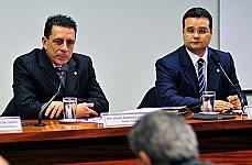 Dep. Sérgio Barradas Carneiro (PT/BA), dep. Fabio Trad (PMDB/MS)