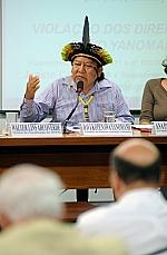 Davi Kopenawa Yanomami (presidente da Hutukura Associação Yanomami)