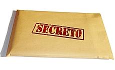 CI Documento secreto sigilo