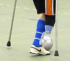 Direitos Humanos e Minorias - Deficiente - Atleta - Futebol