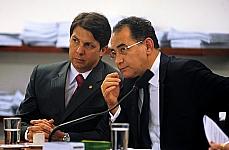 Dep. Arthur Oliveira Maia (1º vice-presidente) e dep João Paulo Cunha (presidente)