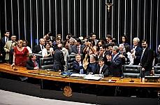 Sessão de votação da PEC da música