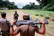 Segurança pública - Geral - Operação da Polícia Federal em fronteira