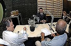 Gravação da Voz do Brasil