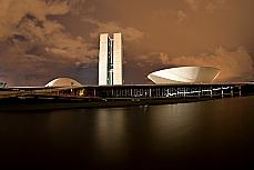 Brasília - Congresso - Hora do planeta - Congresso participou da Hora do Planeta (31/3/2012), ficando com as luzes apagadas das 20h30 às 21h30