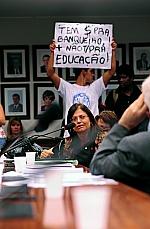 Reunião Ordinária. Discussão e votação do parecer do dep. Angelo Vanhoni (PT-PR). Dep. Alice Portugal (PCdoB-BA)