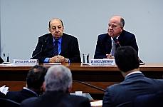 Tema - Prorrogação das concessões do Setor de Energia Elétrica Nacional. Dep. Simão Sessim (presidente da CME), Márcio Zimmermann (ministro interino de Minas e Energia)