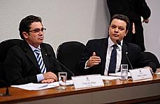 Sen. Vital do Rêgo (presidente) e dep. Odair Cunha (relator)