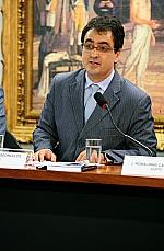 Audiência Pública conjunta entre CCJC e CMO. André P. de Vasconcelos (Ajufe)