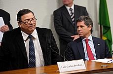 Luiz Carlos Bordoni e dep. Paulo Teixeira (primeiro vice-presidente)