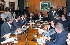 Presidente Marco Maia reunido com lideres partidários