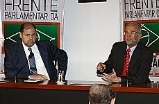 Dep. Alex Canziani (PTB/PR) e Luiz Cláudio Costa (professor)