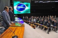 SSolenidade de posse dos deputados jovens e eleição da mesa do PJB 2012