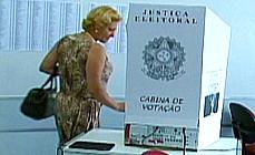 Panorama urna voto