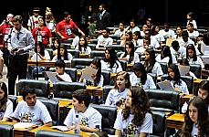 Projeto Câmara Mirim 2012 - Deputados mirins, alunos de escolas públicas e particulares, participarão de sessão mirim para discussão e votação de projetos por eles apresentados