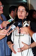 Dep. Marina Santanna (coordenadora do Grupo de Trabalho Legislação da CPMI da Violência contra a Mulher)
