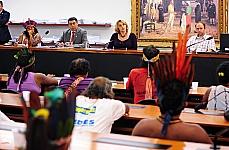 Audiência Pública: demarcação de terras, ameaças à vida de indígenas e deficiência no atendimento médico - dep. Padre Ton (2º vice-presidente) e Erika Kokay (1ª vice-presidente)