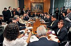 Reunião de Líderes - presidente Marco Maia e líderes partidários definem pauta da semana