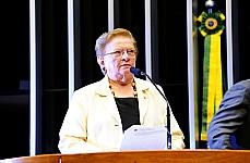 Homenagem e Devolução Simbólica dos Mandatos dos Deputados Federais Cassados por Atos de Exceção entre 1964 e 1977 - dep. Luíza Erundina (PSB-SP), autora do requerimento