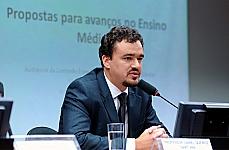 Audiência Pública e Reunião Ordinária. Daniel Queiroz Santana (secretário de educação do Acre)