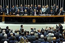 Sessão para votar o fim do 14º e 15º salários