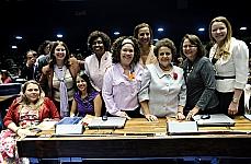 Comemoração do Dia Internacional da Mulher, agraciar as vencedoras do Diploma Mulher- Cidadã Bertha Lutz, e lançar a Procuradoria da Mulher no Senado