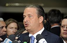 Governador de Pernambuco, Eduardo Campos fala sobre a audiência pública da MP 595/12, a MP dos Portos