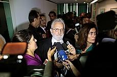 Dep. Ivan Valente (PSOL-SP) concede entrevista após reunião com Liderança da Câmara sobre a presidência da CDHM