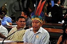 Ato Político contra o avanço da Bancada Ruralista em Territórios Indígenas