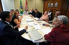 Reunião para decidir sobre a permanência ou não na Comissão de Direitos Humanos e Minorias (CDHM)
