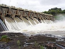Barragem Maia Filho, em Salto do Jacuí, Rio Grande do Sul
