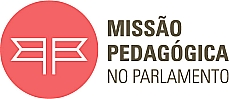 selo do programa Missão Pedagógica no Parlamento