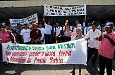 Produtores rurais manifestam contra o excesso de demarcação de terras indígenas pela Fundação Nacional do Índio (Funai)