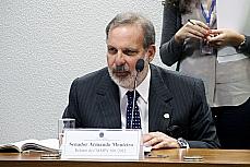 Apreciação do relatório sobre a MP 601/12, que entre outras ações, estende os benefícios fiscais da desoneração da folha de pagamento aos setores da construção civil, do comércio varejista e de serviços navais. Relator da comissão mista, sen. Armando Monteiro (PTB-PE)