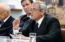 Audiência pública sobre o Projeto de Lei 573/11, que altera a Lei da Anistia (6.683/79). General de Brigada do Exército, Luiz Eduardo da Rocha