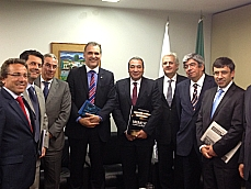 Nelson Pellegrino recebe parlamentares portugueses