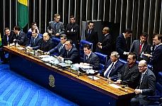 Promulgação da Proposta de Emenda à Constituição (PEC) 544/02, do Senado, que cria mais quatro tribunais regionais federais (TRFs) por meio do desmembramento dos cinco já existentes