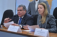 Audiência pública para debater a agricultura de baixo carbono e extensão rural. Relator da CMMC, dep. Sarney Filho (PV-MA) e presidente da CMMC, sen. Vanessa Grazziotin (PCdoB-AM)